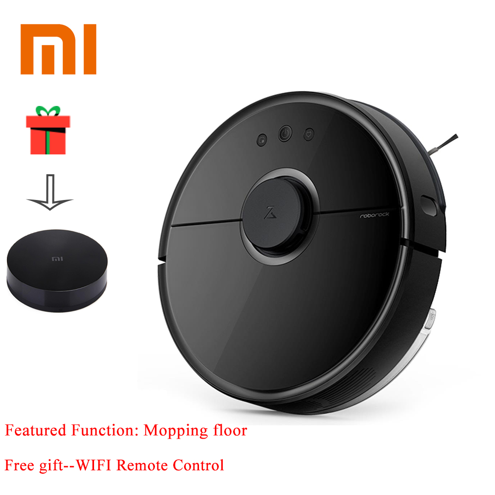 Original Xiaomi Mi Roborock Vacuum Cleaner 2 Mopping Floor WIFI Home Cleaning Sweeping Laser Guidance Powerful Suction LDS original xiaomi mi roborock vacuum cleaner 2 mopping floor wifi home cleaning sweeping laser guidance powerful suction lds
