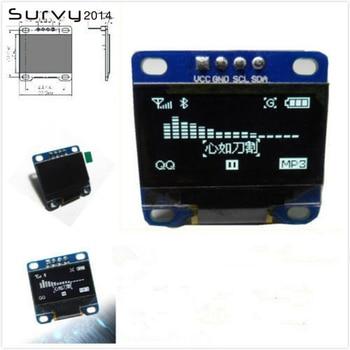 цена на 0.96 inch IIC Serial White OLED Display Module 128X64 I2C SSD1306 12864 LCD Screen Board GND VCC SCL SDA 0.96 for arduino oled