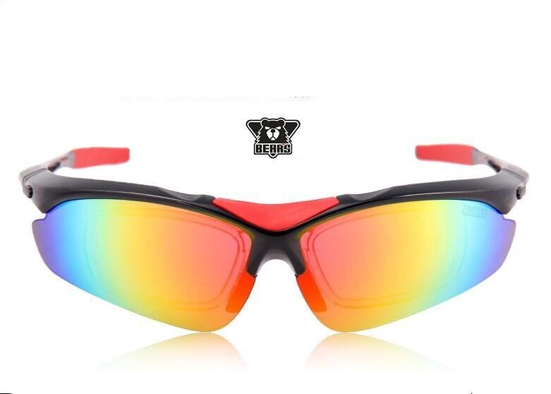 Lunettes de cyclisme polarisées professionnelles lunettes de vélo lunettes de soleil de vélo de Sports de plein air UV 400