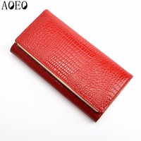 Womens Wallets And Purses Leather Long Standard With Phone Zipper Coin Purse Card Holder Ladies Combination