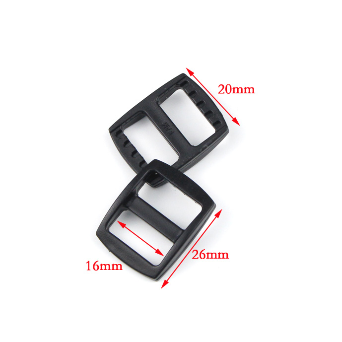 Home & Garden 100pcs/ Pack 5/8plastic Black Slider Tri Glide Adjust Buckles Wider Style Backpack Straps Webbing 16mm #mb0140 Without Return