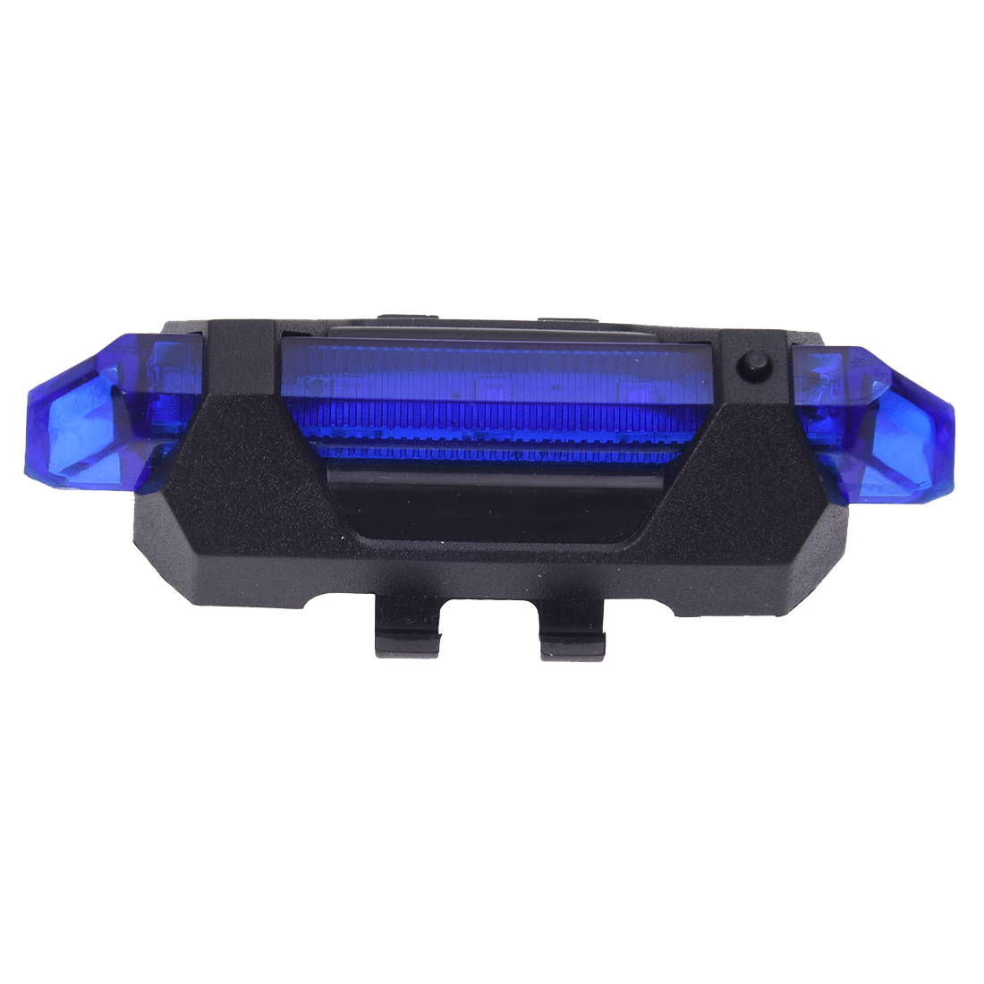 Good Deal 5LED Bicycle Rear Tail Lights Flash USB Rechargeable Bike Safety Lamp Waterproof Black+White Black+Red Black+Blue 6