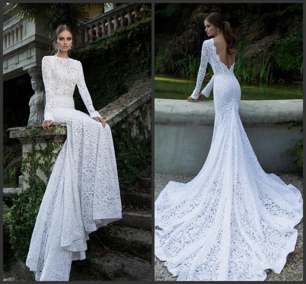 Popular Lace Vintage Wedding Dress-Buy Cheap Lace Vintage Wedding ...
