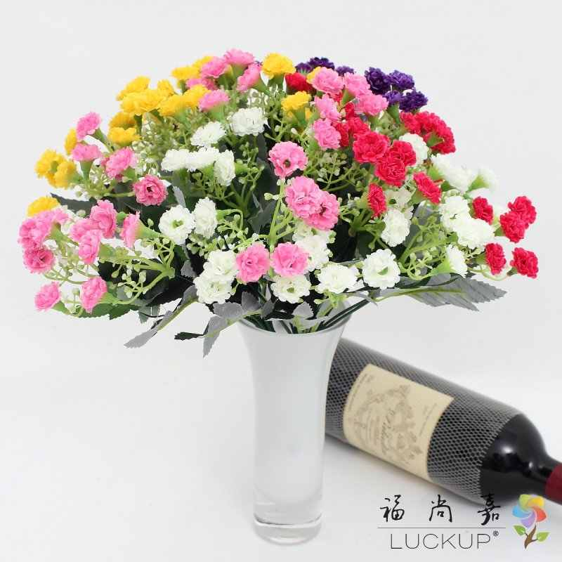 1 pièces 30 têtes de fleurs fleur de soie artificielle maison fête décoration cadeau F492