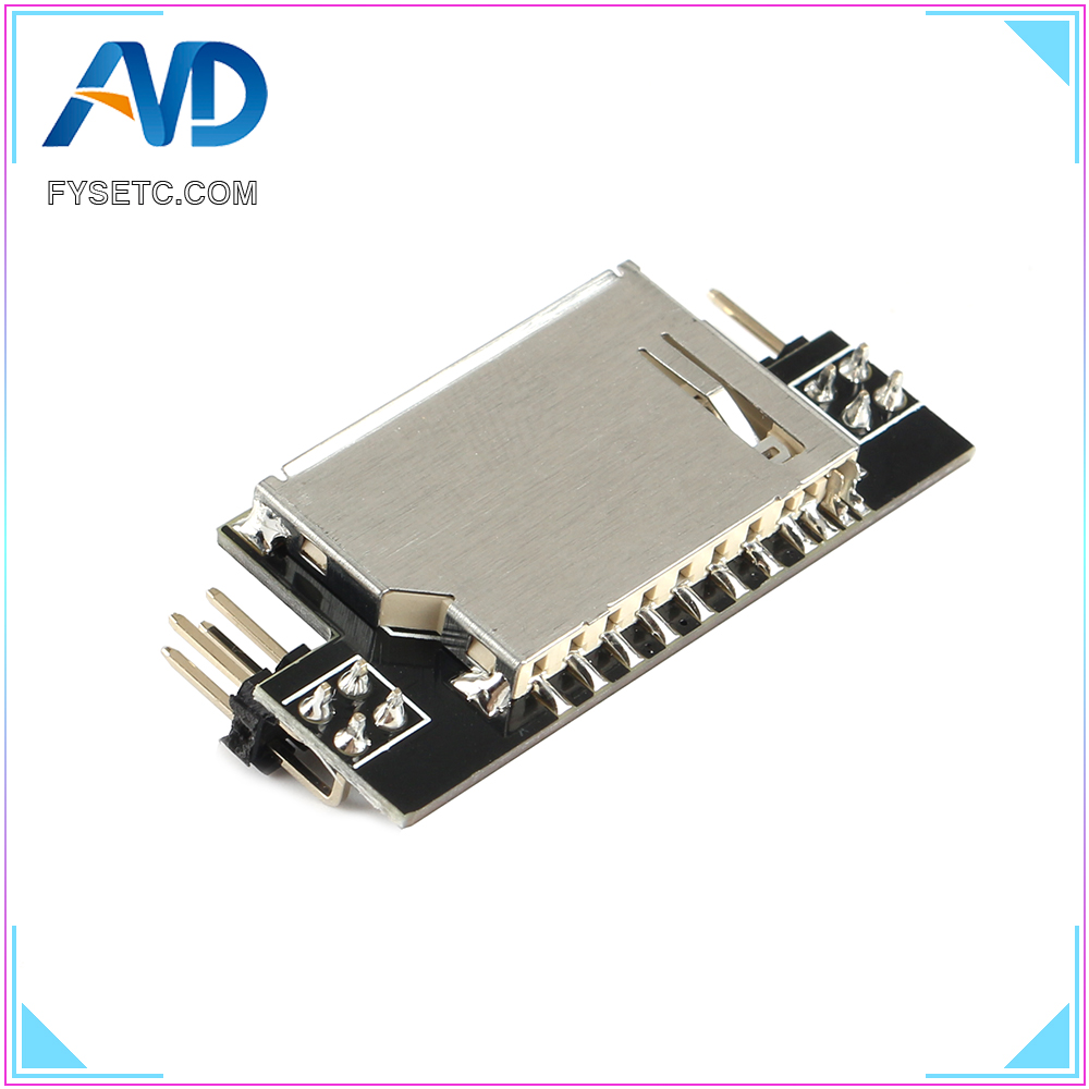 Mini12864 3D Printer Parts SD Expansion Module External Card Reader Connector Adapter SD Reader For Mini 12864 LCD Display