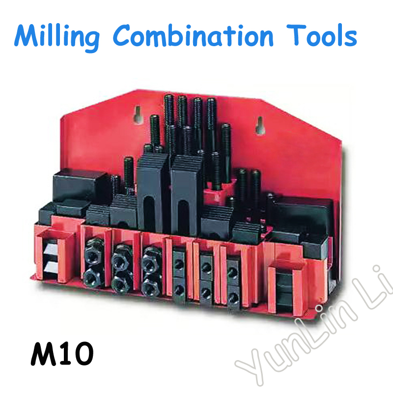 Milling Machine Platen 58pcs Of Mold Parts Universal Fixture Group Code Iron Plus Metex Milling Machine Hard M10Milling Machine Platen 58pcs Of Mold Parts Universal Fixture Group Code Iron Plus Metex Milling Machine Hard M10
