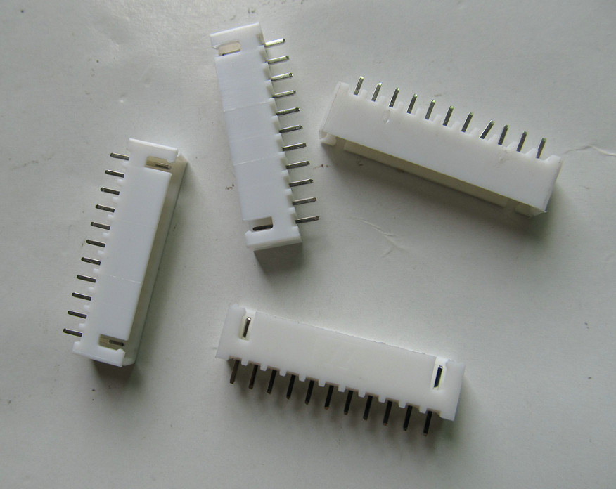 100pcs CH-2 220V 2 Pin Terminal Rapide Autobloquant Type de Presse Connecteur de C/âble Rapide Blanche