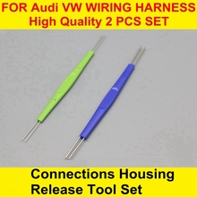 Connections Housing Release WIRING HARNESS Tool Set For Audi VW цена