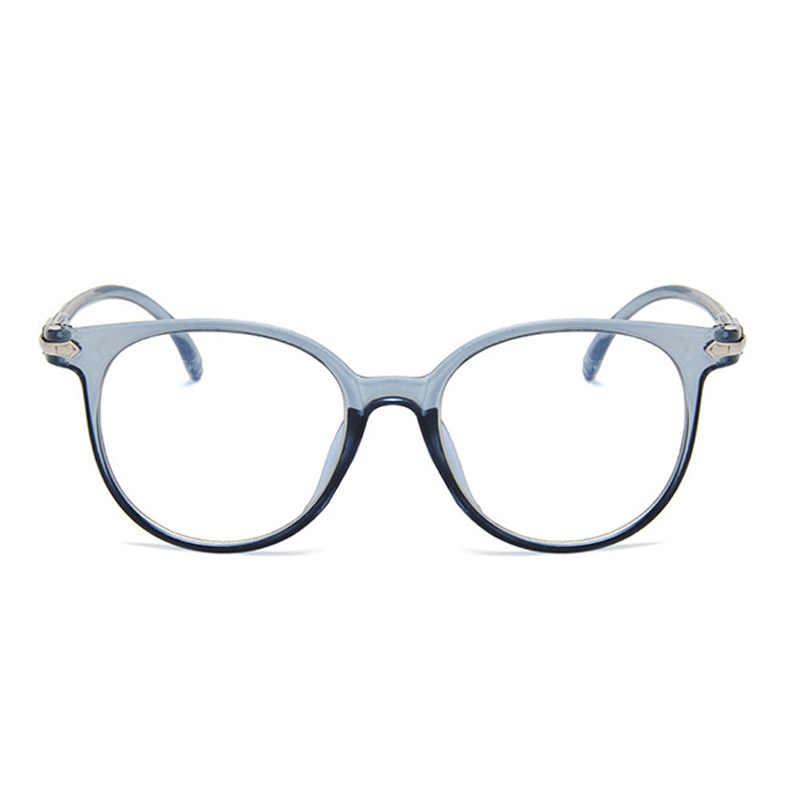 Hot Sale Fashion Women Spectacle Optical Frame Glasses Clear Lens Eyewear  Lady Vintage Computer Anti-Radiation Eyeglasses