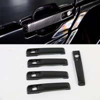 5pcs door handle for Mercedes Benz G Class W463 G55 G63 G500 G550 carbon fiber with high quaility