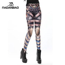 New Fashion Women leggings Super HERO Deadpool Leggins Printed legging for Woman