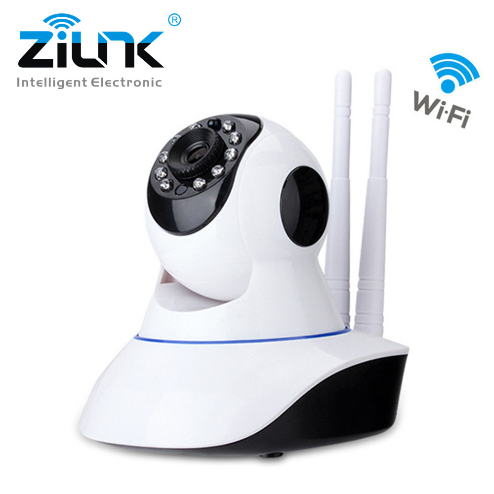 ZILNK HD 720P IP Camera WiFi Wireless Two way audio Night Vision Onvif Home Security CCTV Surveillance Camera Baby Monitor zilnk video intercom hd 720p wifi doorbell camera smart home security night vision wireless doorphone with indoor chime silver