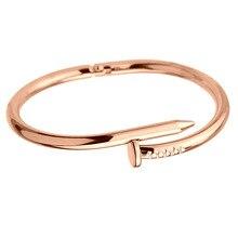 Screws Nail Cuff Bangles Copper Love FI01