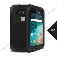 Original Brand Aluminum Metal Phone Case Cover For LG G6 V30 V20 Powerful Armor Shockproof Life Dustproof Protection Case JS0292
