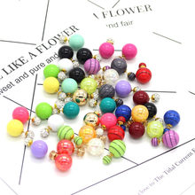 Star Jewelry Crystal Double Sides Earring Cheap Stud Earrings For Women Bohemian Party Exaggerated Fashion Jewelry Femme SALES(China)
