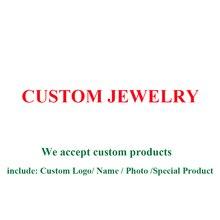 Joyería personalizada de la tienda BELAWANG, se acepta grabar Nombre, foto personalizada, otra joyería especial