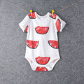 summer Infantil Baby Long Sleeve  Bodysuits100% Cotton  boy Baby Clothes Jumpsuit Cartoon Printed panda Romper