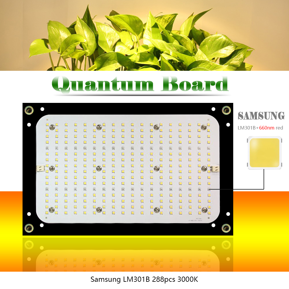 Led Grow Light 120w 240w Quantum Board Full Spectrum