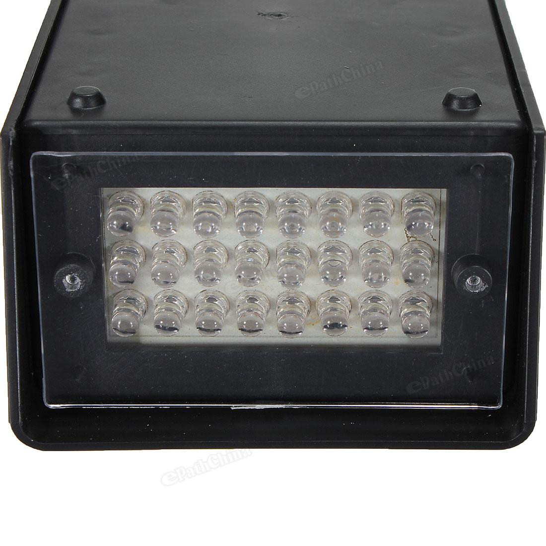 5W 24 LED Stage Lights Operated DJ Strobe Lights Disco Party Club KTV Stroboscope White Stage Lighting Effects US EU Plug AC220V in Stage Lighting Effect from Lights Lighting