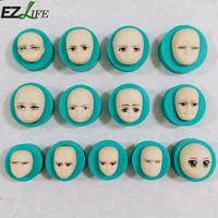 13 teile/satz Baby Gesicht Silikonform Schokolade Ton Craft Mold Handmade Handwerk Puppen Gesicht Form Sugarcraft Form Backenwerkzeuge LXW1667