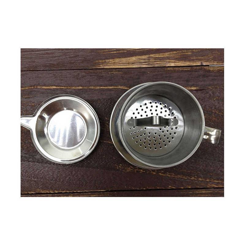 Vietnamita de filtro de café fabricante de acero inoxidable olla infundir taza de deliciosa cocina CAFÉ Tienda
