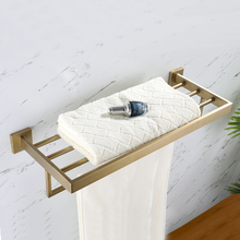 Brushed Gold 304 Stainless Steel Gilded Bathroom Hardware Set Paper Holder Toothbrush Towel Bar Accessories