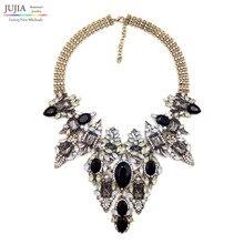 2016 NUEVA Z collar colgante, collar de estilo de Moda Único de La Vendimia de big Bib Chunky Collar Llamativo collar de La Joyería para Las Mujeres