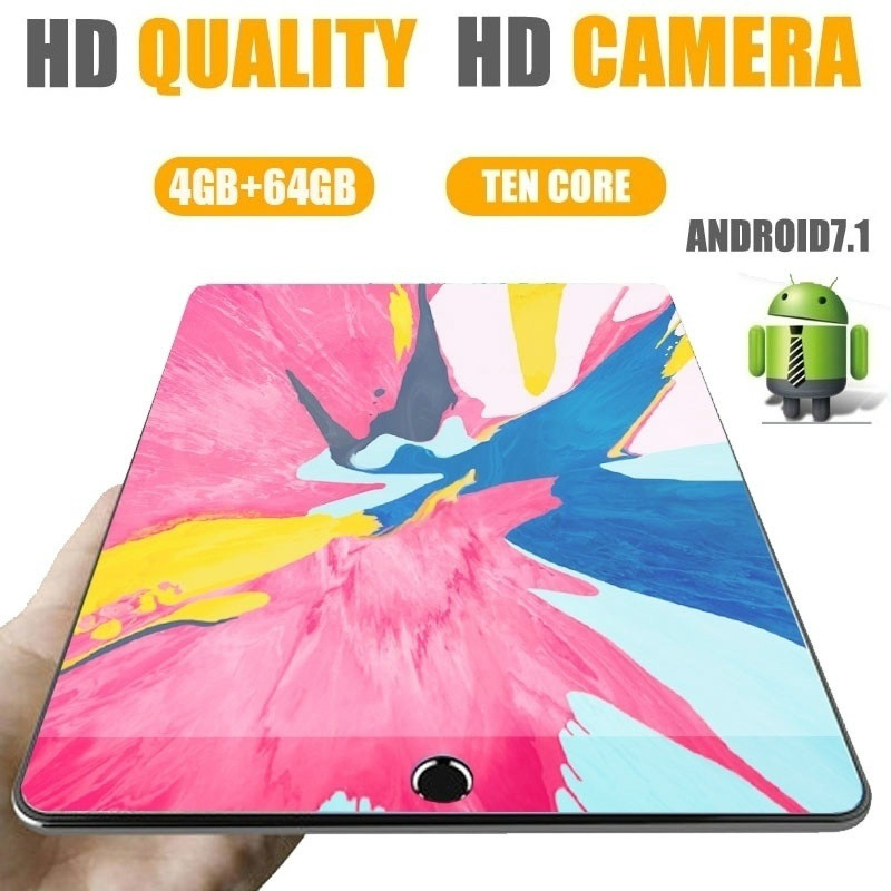 Andriod 7.1 Ten Core 6G 10 Inches Tablet New Original Dual SIM 3G Phone Tablet PC WIFI RAM+16/32/64G ROM Tablet GPS Phone Pad