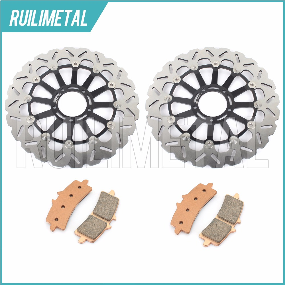 Новые передние тормозные диски роторов + колодки комплект для Ducati Desmosedici D16RR 989 рублей 2008 1100 1098 2007 2008 07 08