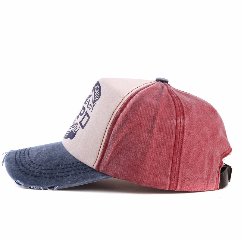 xthree wholsale brand cap baseball cap fitted hat Casual cap gorras 5 panel hip hop snapback hats wash cap for men women unisex 18