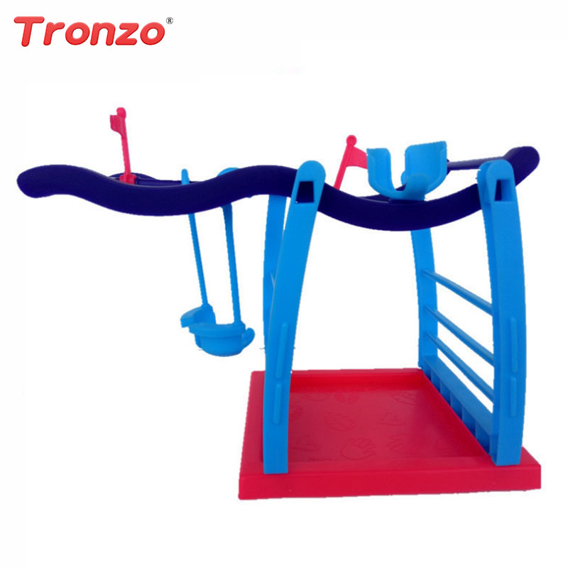 Tronzo Monkey Jungle Gym Playset Interactive Baby Monkey movement Climbing Stand Kids Toys Christmas/Birthday Gifts Dropshipping