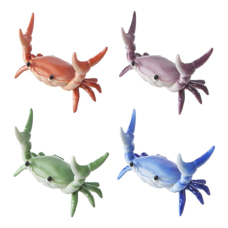 2020 New Japanese Creative Cute Crab Pen Holder Weightlifting Crabs Penholder Bracket Storage Rack Gift Stationery