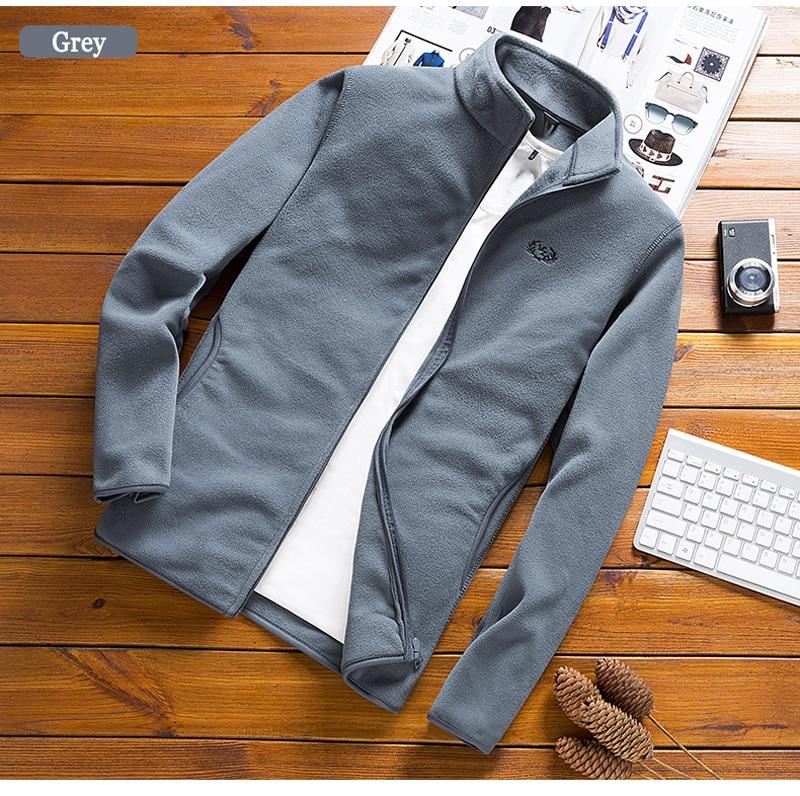 HTB1BOaARYvpK1RjSZPiq6zmwXXai Man Fleece Tactical Softshell Jacket outwear Windbreaker Thermal Sporting male Tourism Mountain coats men Army jackets