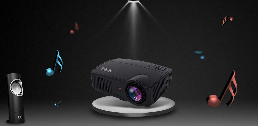 Everycom X9 LED HD Projector