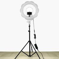 384 pcs Super Lumineux LED Photographie La Lumière Dimmable Caméra Anneau Vidéo Lumière Lampe Pour Maquillage Studio/Vidéo/Photo avec Trépied Stand