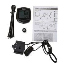 Cycling Computer Mountain Bike Code Table LCD Display Digital Speedometer Odometer Cycling Supply(China)