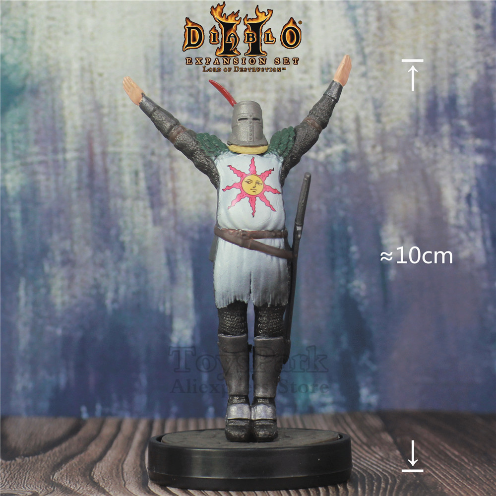 Action & Toy Figures Hot Sale Gift Game Anime Dark Souls Amiibo Sun Warrior Praise The Sun From Software 10cm Figure Model Toys