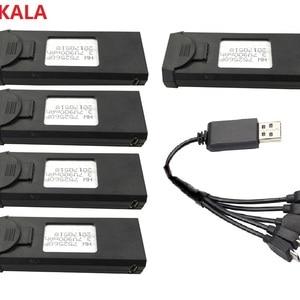 YUKALA XS809HW Battery 3.7V 90