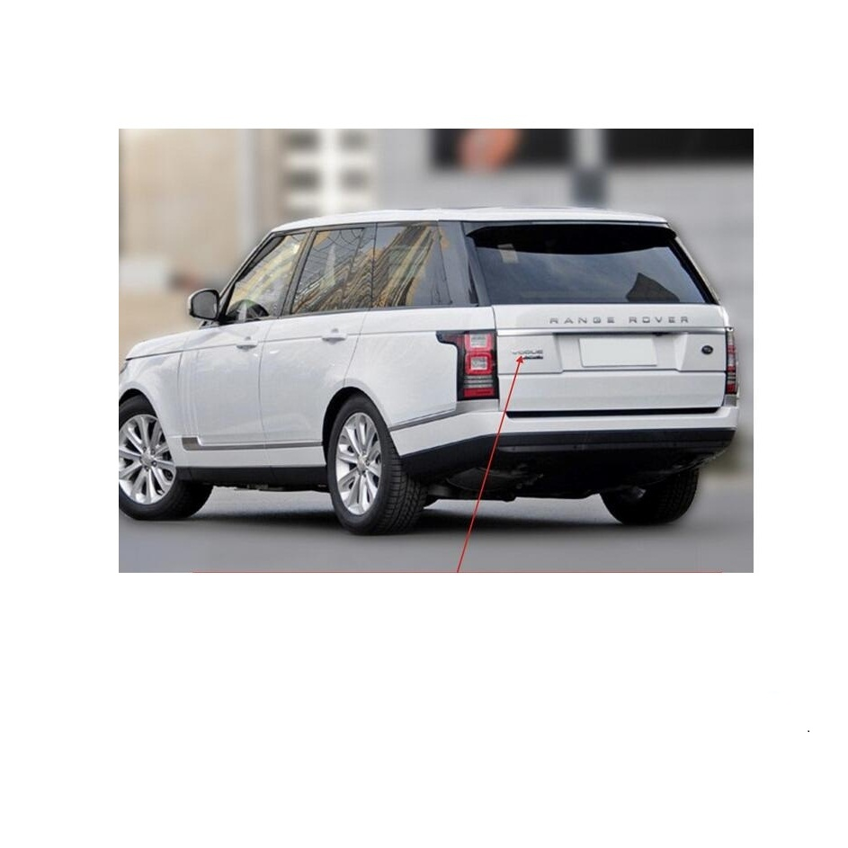 Lettre dinsigne ABS Palstic Emblem avec HSE Luxury pour Discovery Sport Silver