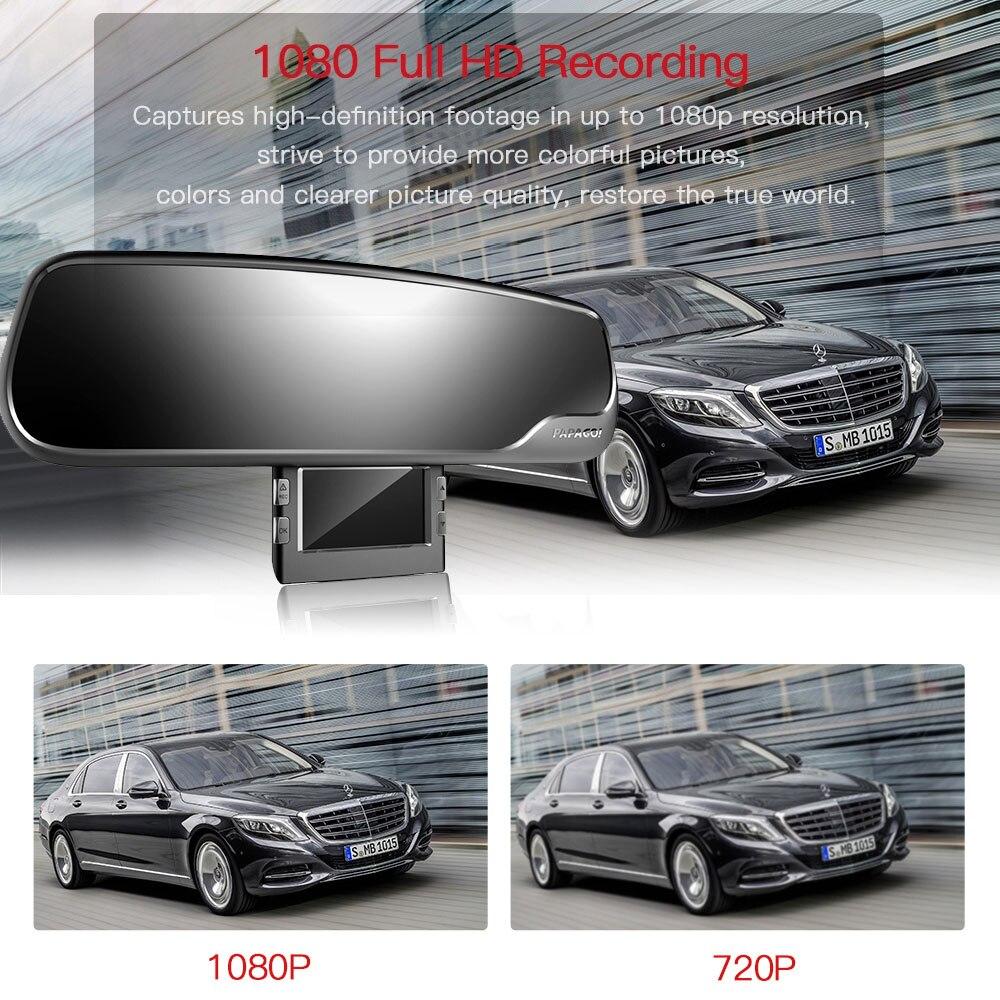 M20 Автомобильный видеорегистратор Novatek 96655 1080P 2,7 экран угол обзора 135 градусов зеркало заднего вида видеорегистратор
