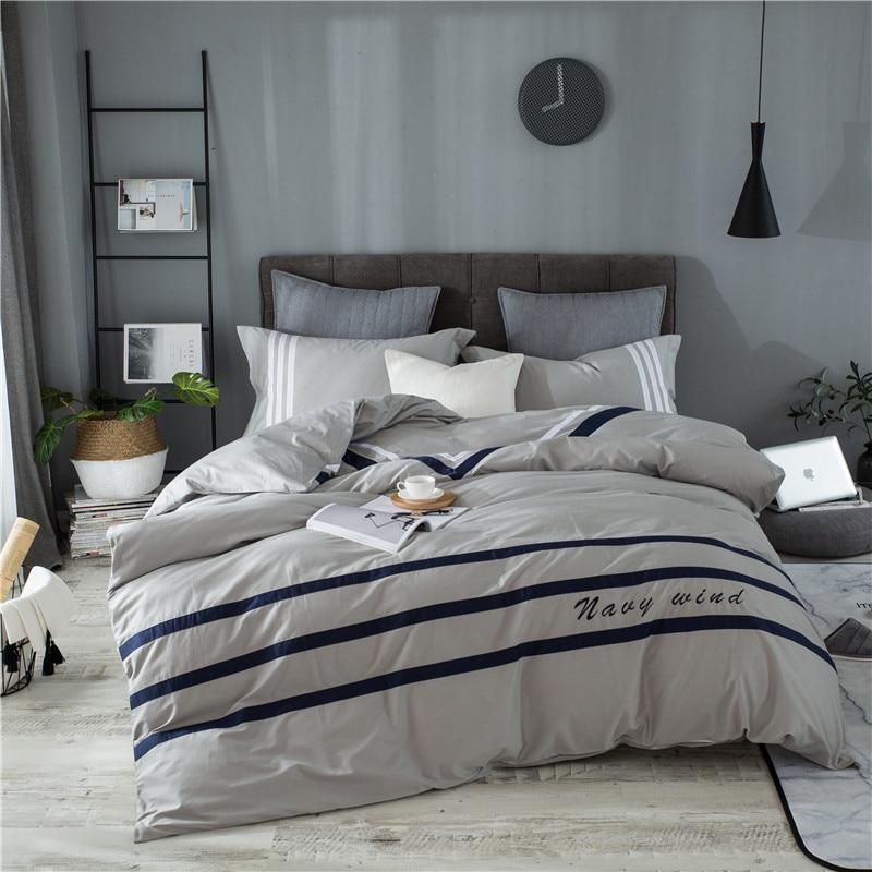 Garnitura posteljnine iz 100% bombažne odeje odeje iz mehkega - Domači tekstil