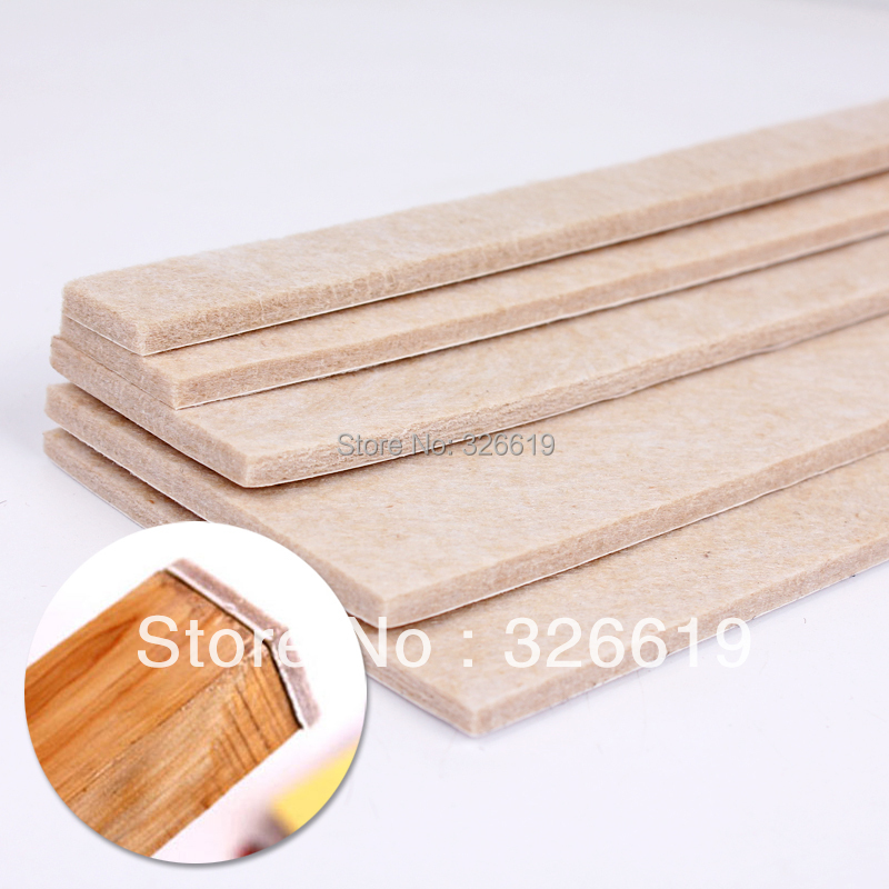 Thick 5mm Quality Wool Felt Pad Furniture Pads Chair Cushion Floor Protection Mat Rectangle Felt Pad
