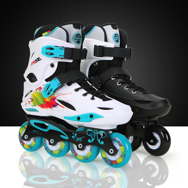 8 Skates Freestyle M1 Frame for Alloy Patin Inline 8OFF Beginner 9 Aluminium in Adult Advanced Skaitng US82 Bearing Wheels ABEC PU FRSE Skater OTPkiuZX