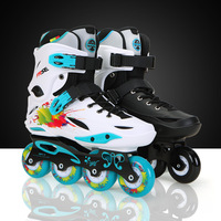 Adult Inline Skates for Beginner Advanced Skater Freestyle FRSE M1 ABEC 9 Bearing Aluminium Alloy Frame PU Skaitng Wheels Patin
