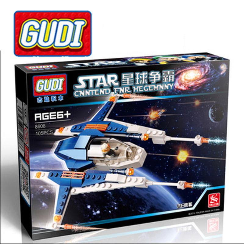 GUDI Hegemony <font><b>Planet</b></font> <font><b>Doom</b></font> Fox Movies Building Blocks Assembled Legoe Compatible Boy Gift Minifigure