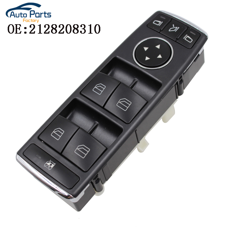 Window Door Master Control Switch For Mercedes C CLASS W204 E CLASS W212 W207 2128208310 A2128208310