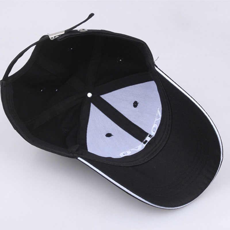أسود قبعة القطن إلكتروني التطريز فولفو قبعة بيسبول Snapback موضة قبعات للآباء للرجال والنساء قبعات سائق الشاحنة Grras العظام