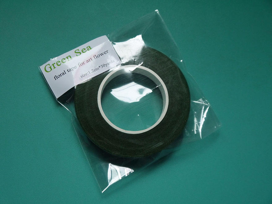 1rolls green floral tape for Artificial flowers fondant cake 30yards in Cake Decorating Supplies from Home Garden