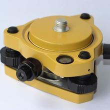Желтый gps несущий фиксированный адаптер с 5/8 вращением и трибрахом с оптическим отвалом