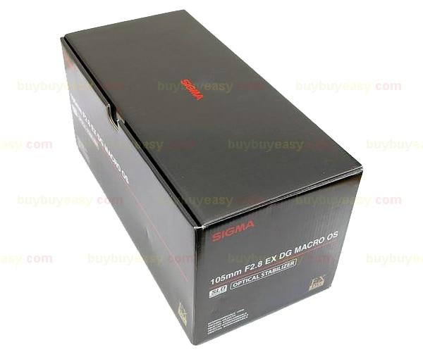 Genuine Sigma 105mm F2.8 EX DG OS HSM MACRO Lens For Nikon genuine sigma apo 70 200mm f2 8 hsm ex dg os lens for nikon